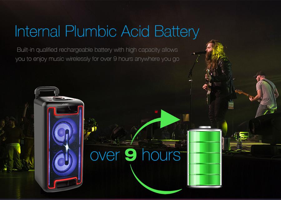 Internal Plumbic Acid Battery