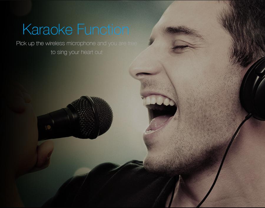 Karaoke option