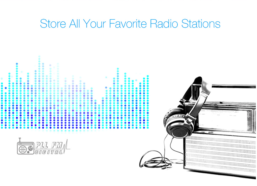 Store all your favorite Radio station